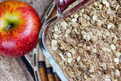 healthy-apple-crisp
