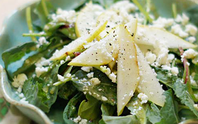 Winter Salad with Vinaigrette Dressing