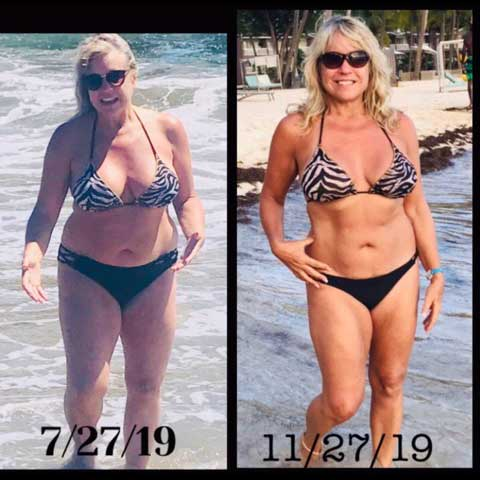 Lisa Nicks Before and After